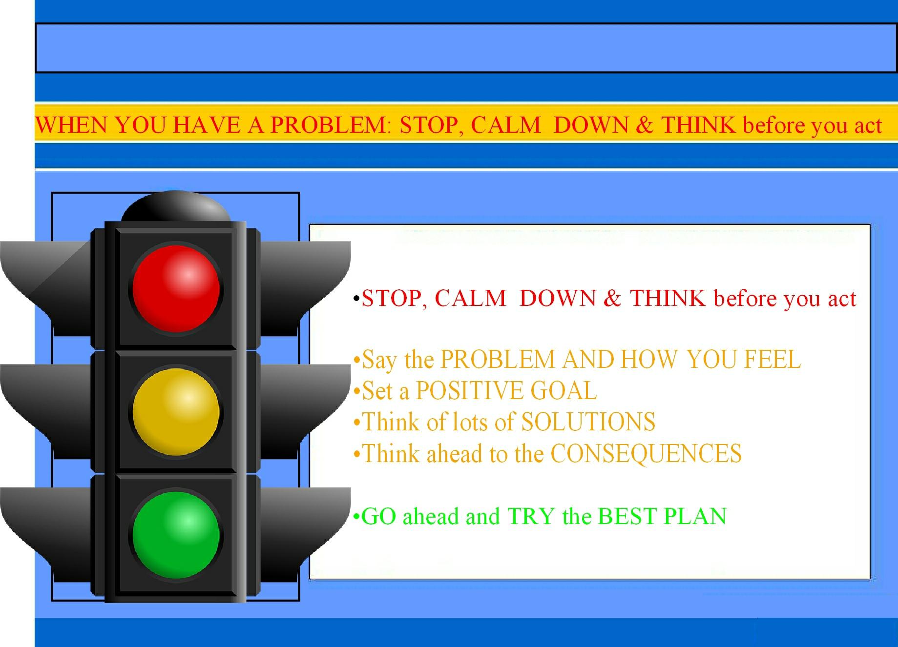 Stop Calm Go