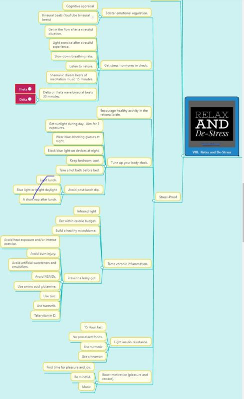 Stress-Proof Mind Map
