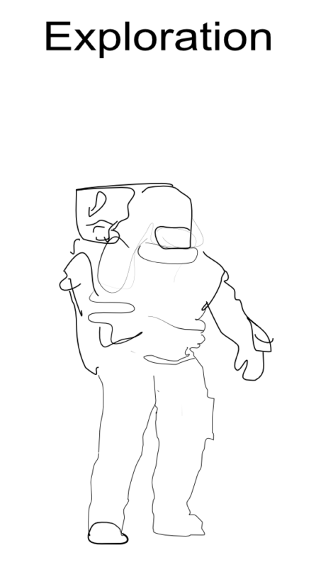 Affinity Drawing Astronaut