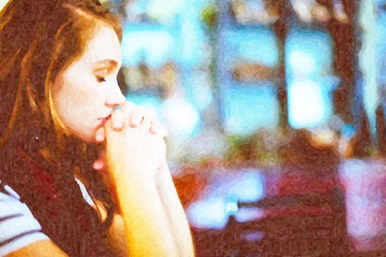 Girl Giving Forgiveness
