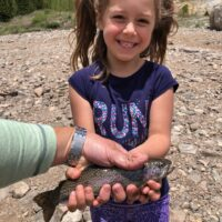 My Husband's Granddaughter with her Fish