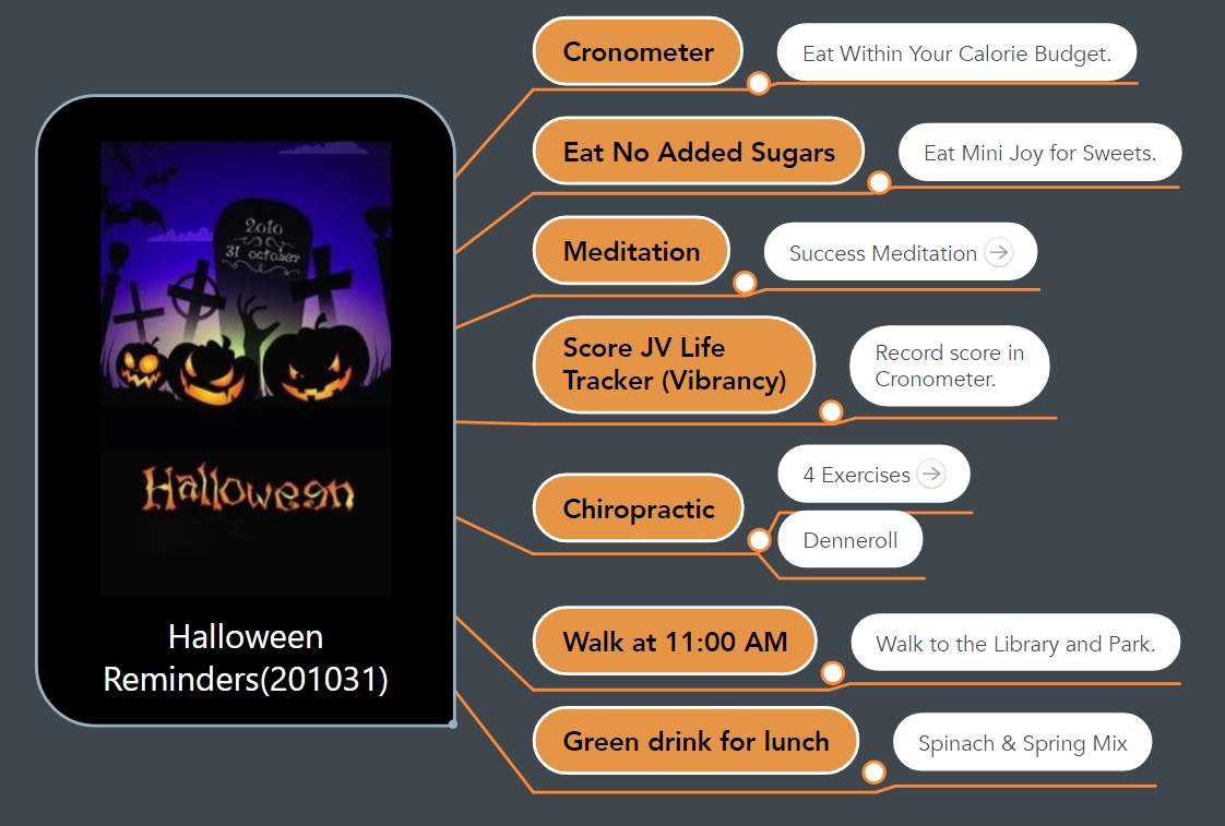 A Pathway for Halloween!